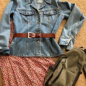 Blue jean shirt /jacket
